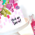 Paint Stokes Floral card by Julia Stainton featuring Essentials by Ellen from Ellen Hutson LLC