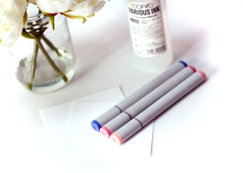 Copic Markers and Blender Solution