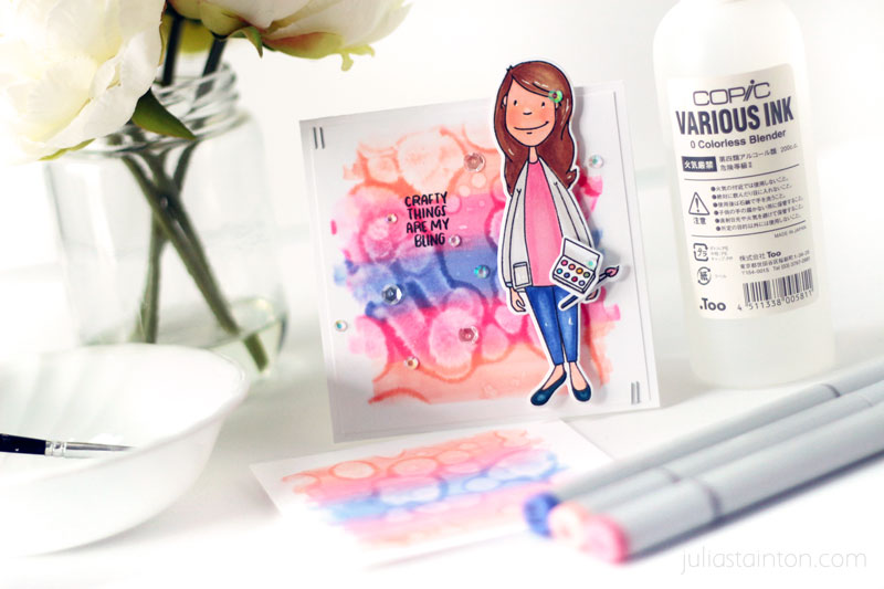 Copic Perfect Match Stamping Tutorial by Julia Stainton