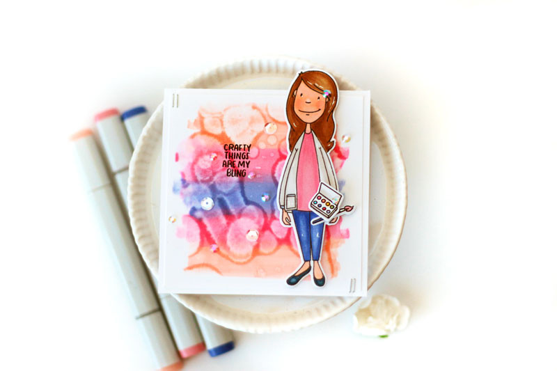 Perfect Match Copic Backgrounds by Julia Stainton featuring Copic Markers and Essentials by Ellen
