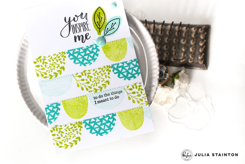 You Inspire Me by Julia Stainton featuring Pinkfresh Studio